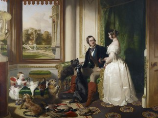 Edwin Landseer, Windsor Castle in Modern Times, 1841�3