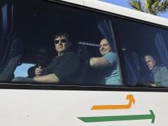Turistas en Túnez