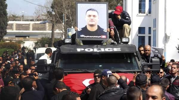 Funeral en Túnez