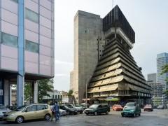 La Pyramide, Abidjan (Côte d'Ivoire), by Rinaldo Olivieri, 1973