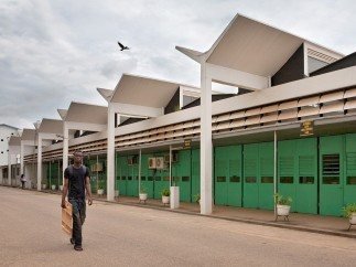 School of Engineering at KNUST (Kwame Nkrumah University of Science and Technology), Kumasi (Ghana), by James Cubitt, 1956
