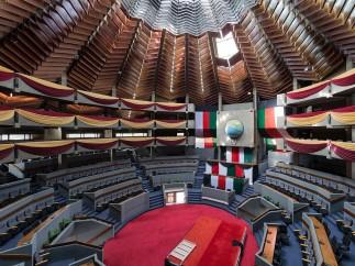 Kenyatta International Conference Centre, Nairobi (Kenya), by Karl Henrik Nostvik, 1967-1973