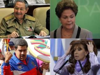 Líderes latinoamericano