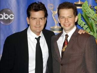 Jon Cryer y Charlie Sheen