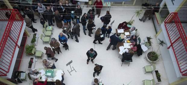 Participación en las elecciones en Andalucía
