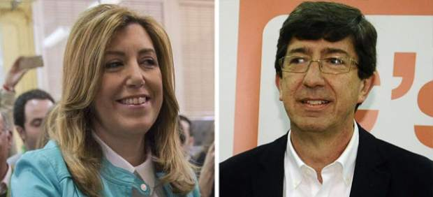 Susana Díaz y Juan Marín