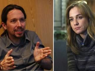 Pablo Iglesias y Tania S�nchez