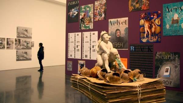 Polémica escultura en el MACBA