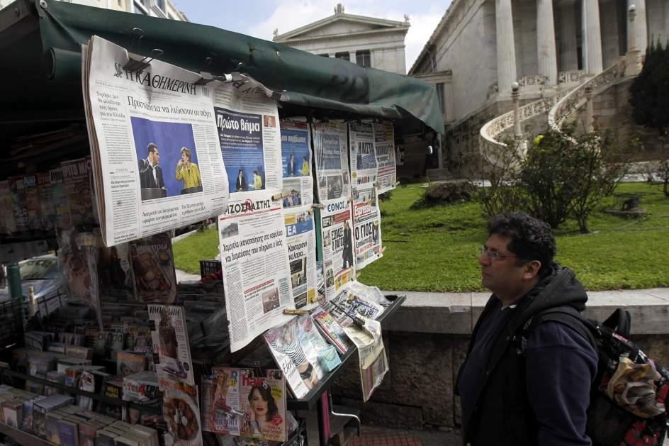 La prensa griega informa sobre el encuentro Tsipras-Merkel
