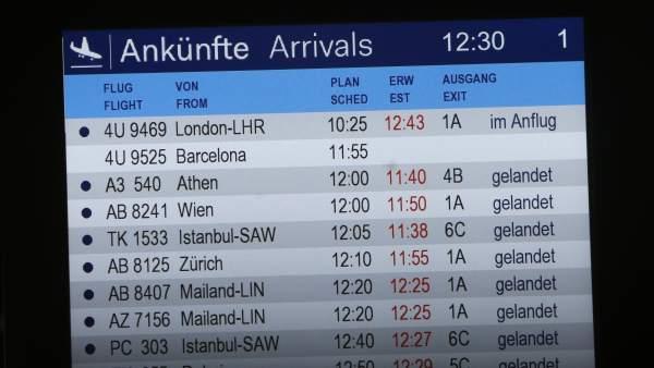 Se estrella un avión con 150 personas a bordo