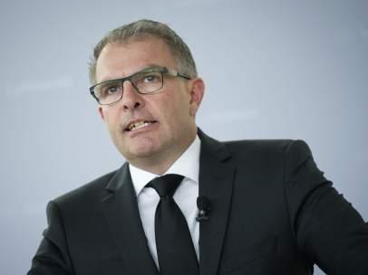 El presidente de la aerol�nea alemana Lufthansa, Carsten Spohr.