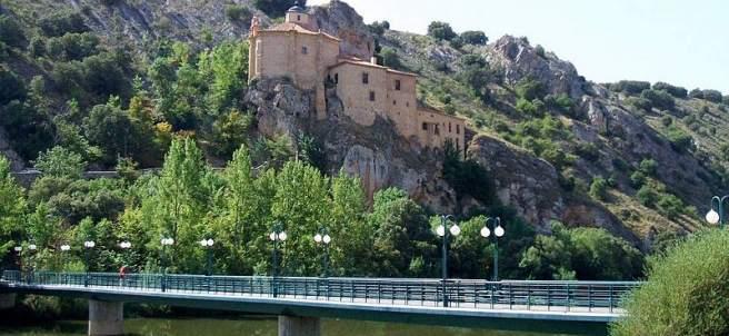 Ermita de San Saturio, en Soria