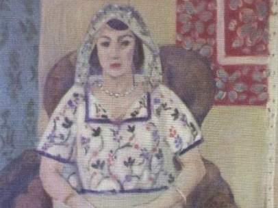 'Mujer sentada', de Henri Matisse.