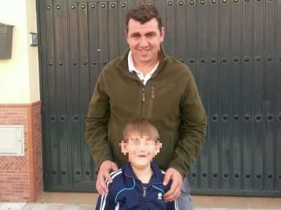 Jos� Antonio Escudero y su hijo Daniel