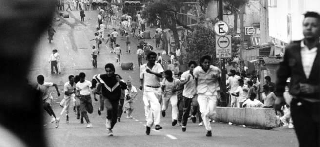 Caracazo. Los disturbios comenzaron en el barrio de Catia, en la periferia de Caracas