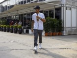 Lewis Hamilton, ante el Gran Premio de Malasia 2015