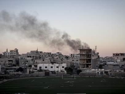 Bombardeo en Idlib