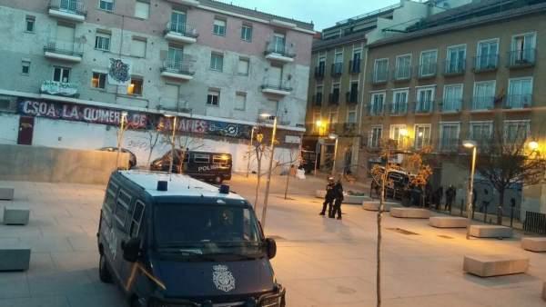 Desalojo del centro social okupado La Quimera