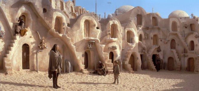 Rodaje de Star Wars en Túnez