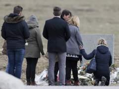 Familias de las v�ctimas de la tragedia de los Alpes