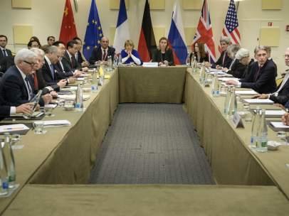 Negociaci�n del programa nuclear de Ir�n
