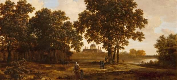 'El Bosque de La Haya con vistas del Palacio Huis ten Bosch'