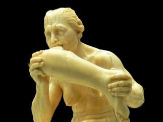 'Mujer canibal', de Leonhard Kern.
