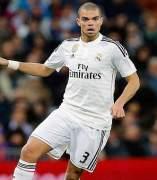 Pepe, defensa del Real Madrid.