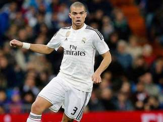 Pepe, defensa del Real Madrid.