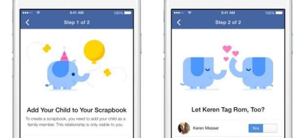 Facebook y fotos de los hijos: desarrollan una nueva forma de etiquetarlas y organizarlas