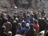 Estado Islámico entra en Damasco y toma parte del campo de refugiados de Al Yarmuk.