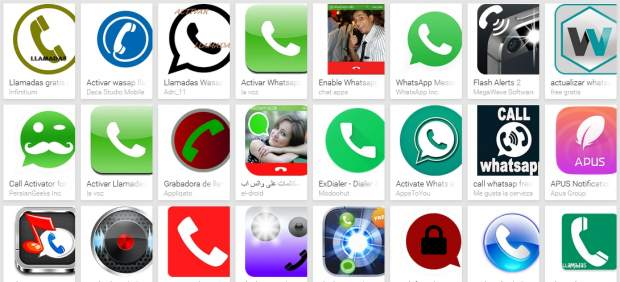Llamadas con WhatsApp