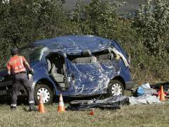 Cuatro fallecidos y un herido en cuatro accidentes durante el fin de semana