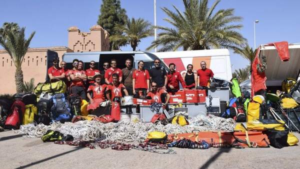 Rescate en Marruecos