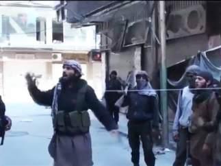 Combatientes de Estado Isl�mico en Siria