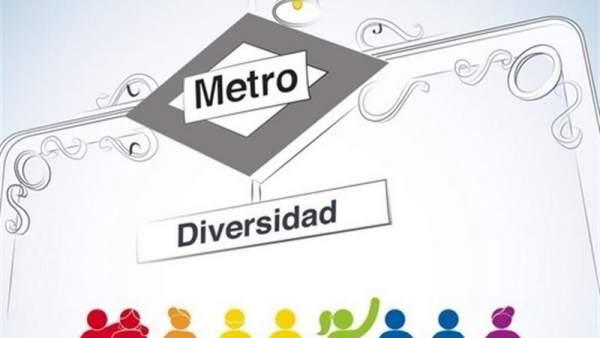 Cartel del Metro de Madrid