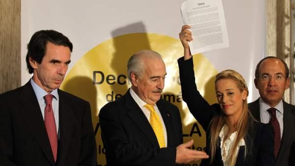 Aznar en Panamá