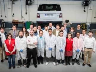 Land Rover y Cruz Roja España
