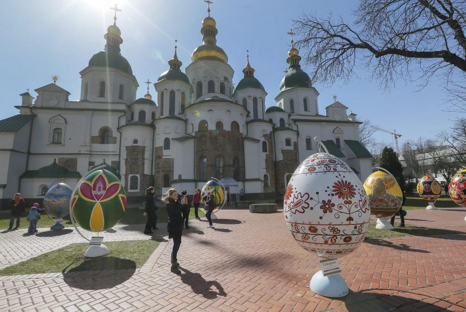 Pascua ortodoxa en Ucrania