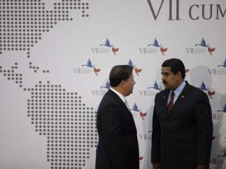 Maduro, en la cumbre americana