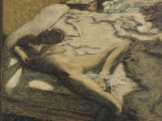 Femme assoupie sur un lit, dit aussi L�Indolente, 1899
