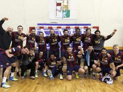 El Barça gana la ASOBAL