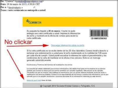Campaña de spam