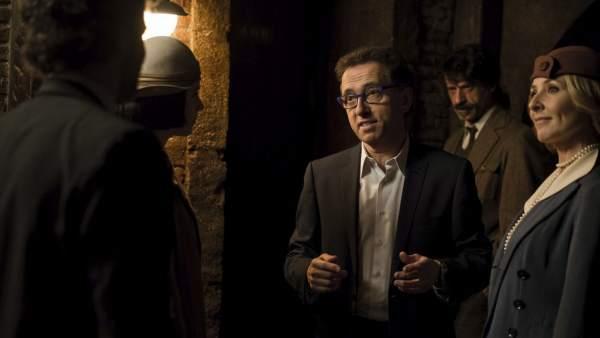 Jordi Hurtado, en 'El Ministerio del Tiempo'