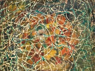 AKRAM SHUKRI (IRAQ, 1910-1986), Abstract Composition, 1962