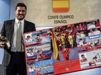 David Cal, homenajeado en Madrid