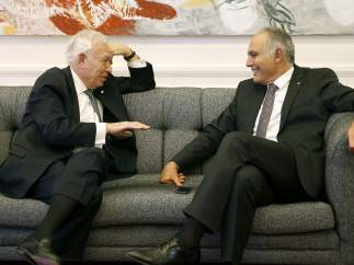 José Manuel García-Margallo y Salahedín Mezuar