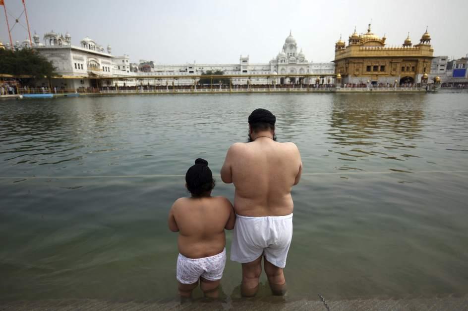 Festividad de Baisakhi en India