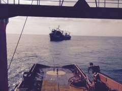 Se hunde frente a Canarias el pesquero 'Oleg Nayderov'