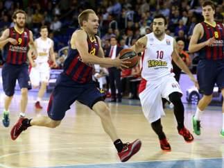 Oleson en el Barça - Olympiacos